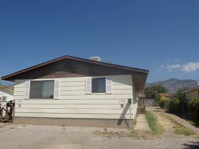 Alamogordo Single Family Home For Sale: 1714 N Florida Av