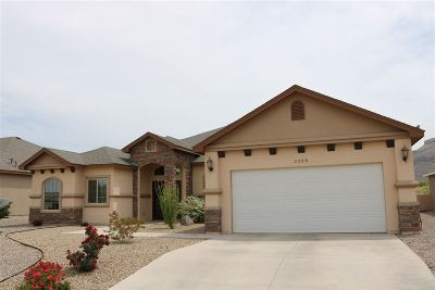 Alamogordo Single Family Home For Sale: 2305 Silverado