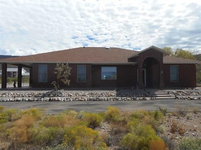 Alamogordo Single Family Home For Sale: 47 S Canyon Rd