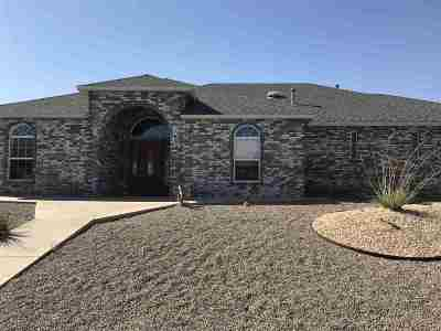 Alamogordo Single Family Home Under Contract: 763 Cholla Av