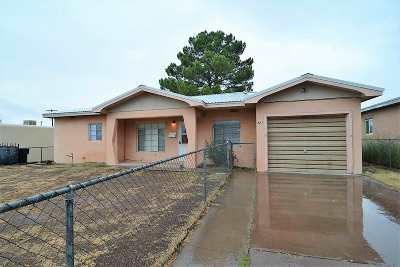 Tularosa Single Family Home For Sale: 927 Peach Cir