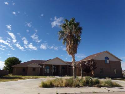 Alamogordo Single Family Home Under Contract: 8 Divers Cove