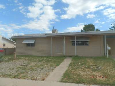 Alamogordo Single Family Home Under Contract: 604 Madison Av