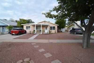 Alamogordo Single Family Home For Sale: 1511 Ohio Av