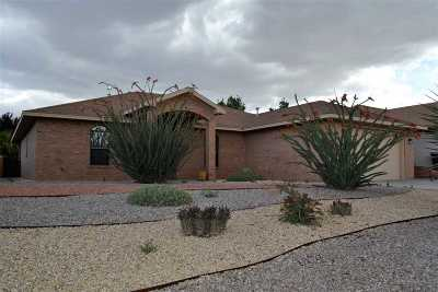 Alamogordo Single Family Home Under Contract: 363 Wildwood Dr