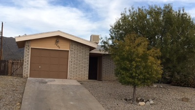 Single Family Home For Sale: 2445 Nevada Dr