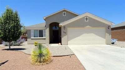 Alamogordo Single Family Home For Sale: 239 Bosque