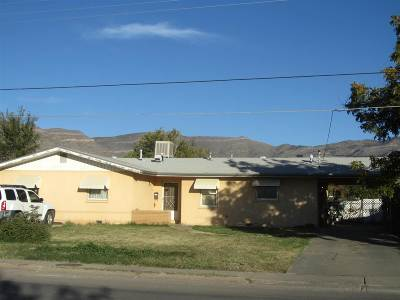 Alamogordo Single Family Home For Sale: 1612 N Florida Av