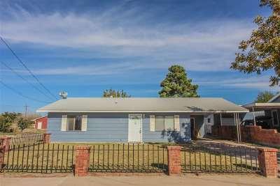 Alamogordo Single Family Home For Sale: 1699 Twenty-Third St