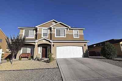 Alamogordo Single Family Home For Sale: 2475 Wyatt Way