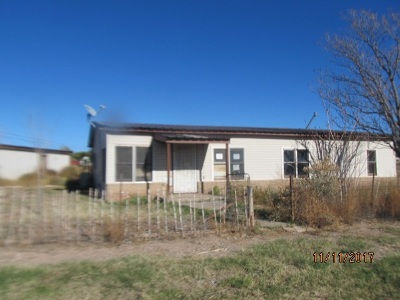 Tularosa Single Family Home Under Contract: 7 Pierce Rd