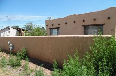 Tularosa Single Family Home Under Contract: 608 1st St