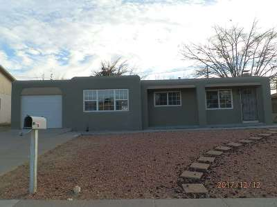 Alamogordo Single Family Home Under Contract: 1702 Snow Dr