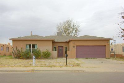 Alamogordo Single Family Home Under Contract: 1735 Corte Alegre