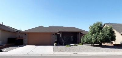 Alamogordo Single Family Home Under Contract: 4060 Wood Lp