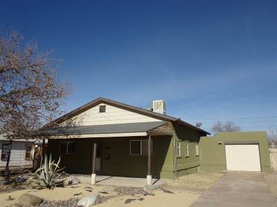 Alamogordo NM Single Family Home For Sale: $124,700