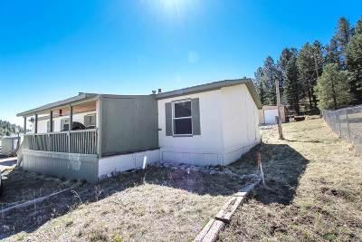 Cloudcroft Single Family Home For Sale: 20 Isleta