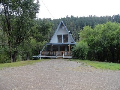 Cloudcroft Single Family Home For Sale: 1256 Hwy 82