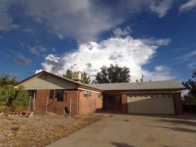 Alamogordo Single Family Home Under Contract: 2310 Union Av