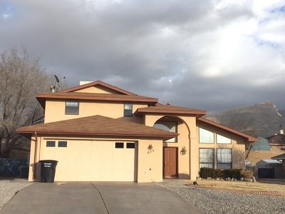 Alamogordo Single Family Home For Sale: 624 Eagle Dr