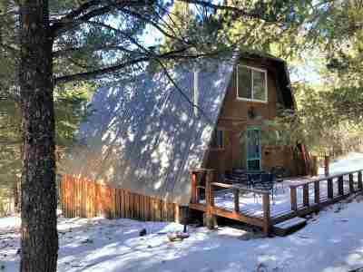 Cloudcroft Single Family Home For Sale: 8 Big Bend Cut Off
