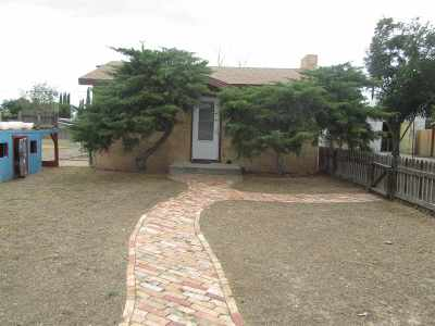 Alamogordo Single Family Home Under Contract: 1607 N Florida Av