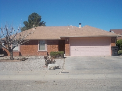 Alamogordo NM Single Family Home For Sale: $119,700
