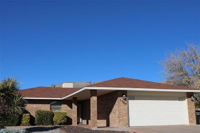Alamogordo NM Single Family Home Uc Taking Backup Offers: $139,700