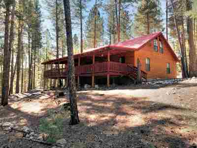 Cloudcroft Single Family Home Under Contract: 189 Heather Way