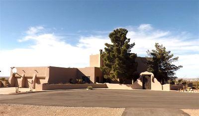 Alamogordo Single Family Home For Sale: 58 S Canyon Rd