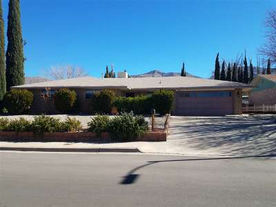 Alamogordo Single Family Home Under Contract: 600 Sunset Av