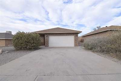 Alamogordo Single Family Home For Sale: 1121 Mimosa Av