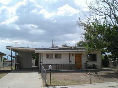 Alamogordo Single Family Home For Sale: 2311 Baylor Av