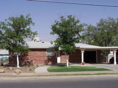 Alamogordo Single Family Home For Sale: 1509 Cuba Av