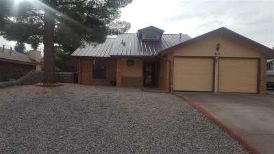 Alamogordo Single Family Home For Sale: 3411 Shenandoah Pl