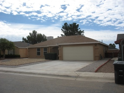 Alamogordo NM Single Family Home For Sale: $129,500
