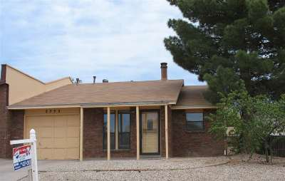 Alamogordo NM Single Family Home Under Contract: $109,700