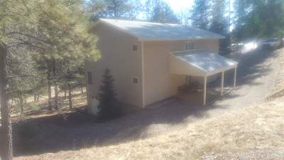 Cloudcroft Single Family Home Under Contract: 15 Plug Nickel Rd