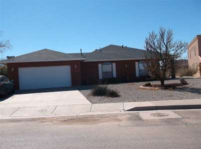 Alamogordo NM Single Family Home Under Contract: $189,900