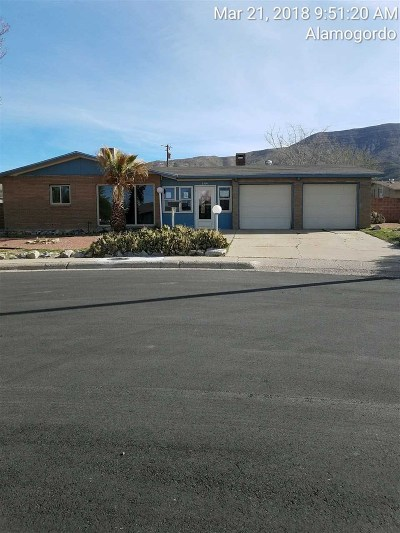Alamogordo NM Single Family Home For Sale: $89,900
