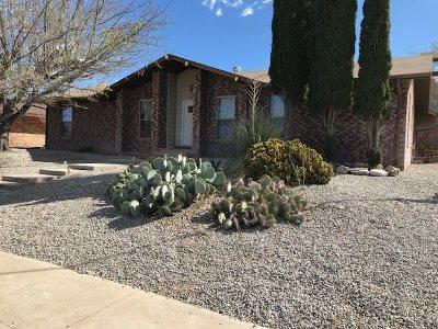 Alamogordo Single Family Home For Sale: 400 Sunglow Av