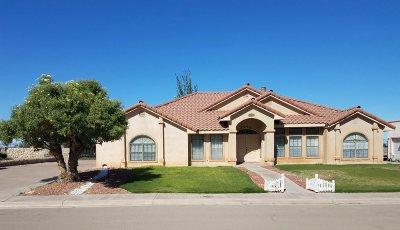 Alamogordo Single Family Home Uc Taking Backup Offers: 2575 Desert Hills Dr