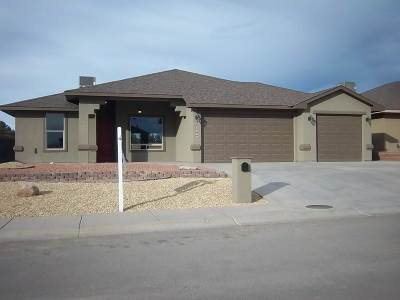 Alamogordo Single Family Home Under Contract: 429 San Simon Drive