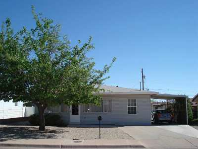 Alamogordo Single Family Home Under Contract: 1304 Nineteenth St