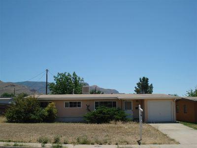 Alamogordo Single Family Home For Sale: 2400 Rolland Av