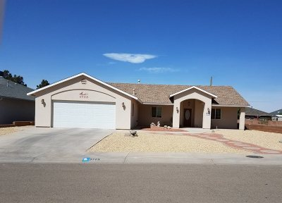 Alamogordo Single Family Home For Sale: 3723 Ironwood Dr