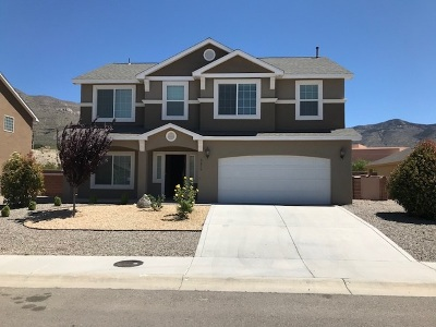 Alamogordo Single Family Home For Sale: 2475 Wyatt Way