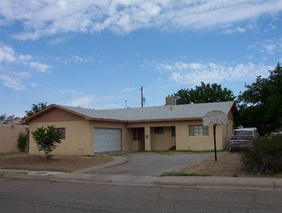 Alamogordo Single Family Home For Sale: 1811 Miracerros Ln