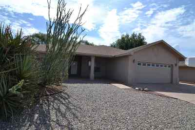 Alamogordo Single Family Home For Sale: 3734 Ironwood Dr