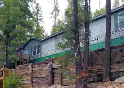 Cloudcroft Single Family Home For Sale: 54 Pine Trl